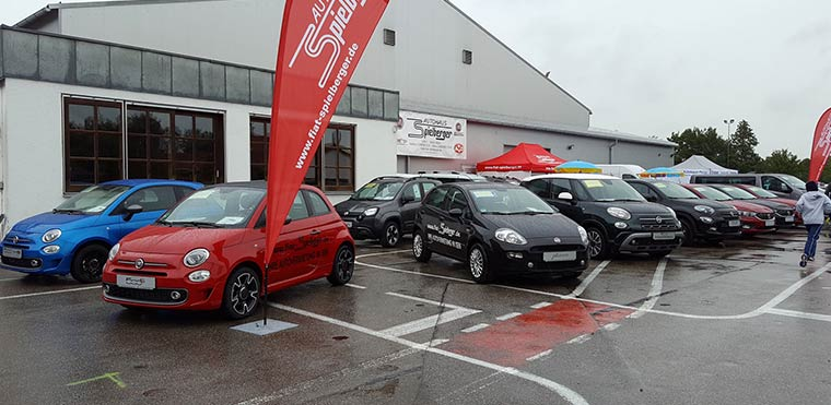 Vorführwägen bei Autohaus Spielberger in Isen